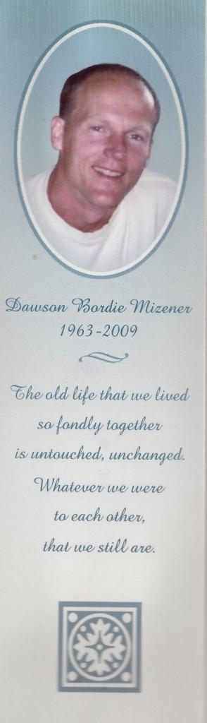 Dawson Mizener card