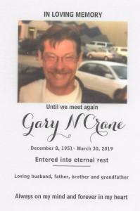 Gary Crane old